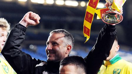 Norwich City boss Neil Adams enjoyed his last coaching assignment at Stamford Bridge in the 2013 FA