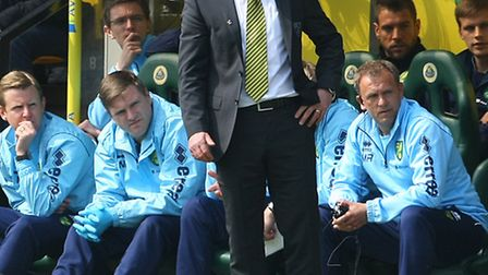 Norwich manager Neil Adams is looking forward to testing himself against Chelsea's Jose Mourinho. Pi