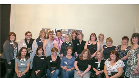 North Walsham High School for Girls Reunion. Class P. Picture: COLIN SPALDING