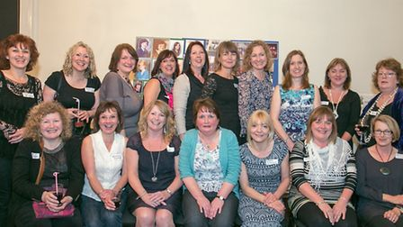 North Walsham High School for Girls Reunion. Class Q. Picture: COLIN SPALDING
