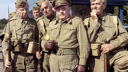 Dads Army, originally starring, from left, Clive Dunn, John Laurie, Arthur Lowe and John Le Mesurier