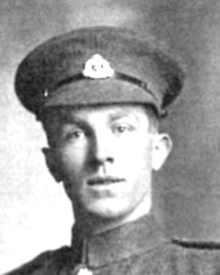 Corporal Sidney James Day, the Lakenham lad who won the VC.