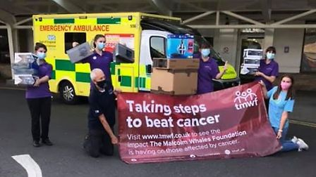Ely charity The Malcolm Whales Foundation donated a PlayStation 4, several TVs, two sensory light systems and toys worth a...