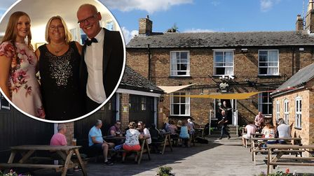 Owner of the Falcon Hotel in Whittlesey Colin Wilson is asking home workers to set up inside his pub for less than a tenner.