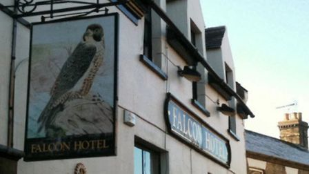 Tthe Falcon Hotel in Whittlesey. Picture: Colin Wilson