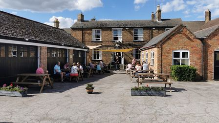 Outside of the Falcon Hotel in Whittlesey. Picture: Falcon Hotel