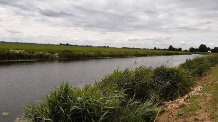 An off-duty police officer found illegal gill nets in the 20ft river in March. Picture: Cambs Cops