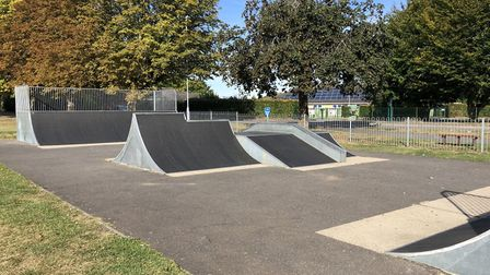 """Ely has a small skate park in St John's Road but campaigners say """"thiss is not big enough to cater for the large numbers..."""