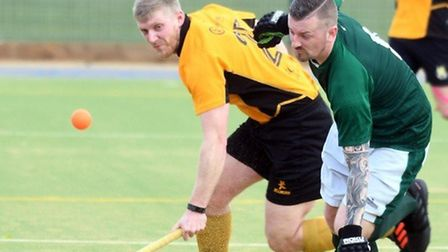 March Town 1sts suffered their first defeat of the East Men's League season at St Ives 2nds. Picture: IAN CARTER