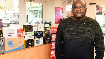 Loveland Tawiah (pictured), owner of PC OK, says working remotely and supporting customers during the coronavirus pandemic...