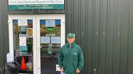 TFM Butchers in Isleham was inundated with internet orders and deliveries and didn't stop throughout the Covid-19 lockdown.