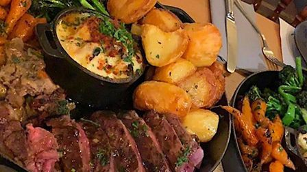 The Anchor Inn in Burwell is fully booked for the next two Sundays thanks to a Twitter post showing a picture of a diner's...
