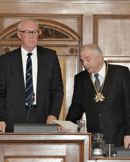 Election of Chairman and Leader for Cambridgeshire County Council. Outgoing Chairman John Powley and newly elected...