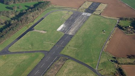 A huge solar farm could be installed at the former RAF Coltishall site. Picture: Mike Page.