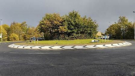 A £1.8m improvement scheme for the BP roundabout at Ely has finished a month ahead of schedule. Picture; CCC