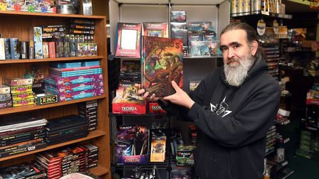 John Freeman (pictured), owner of The Hobbit Hole in Chatteris, used to hold Yu-Gi-Oh! tournaments at his shop on High...