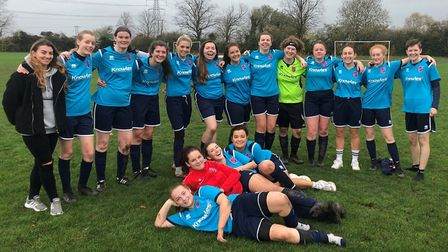Park Ladies stormed to a fourth straight win with victory at Burwell Tigers Ladies in a league cup tie. Picture...