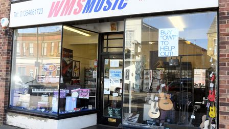 Wayne Seims, who has been running WMS Music for 12 years, said without the repair services he offers, the business may...