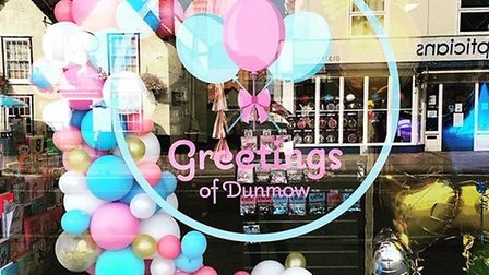 Greetings of Dunmow. Photo: Supplied Beverley Palmer.