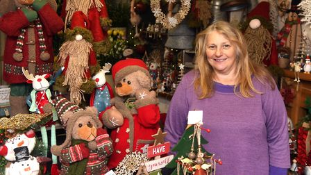 Andrea Moat (pictured), owner of Elizabeth?s Florist in Chatteris, said she was unsure on whether to take over the...