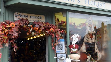 Andrea Moat, owner of Elizabeth?s Florist in Chatteris, said she was unsure on whether to take over the business 15 years...