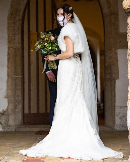 Jo and Mathew get married at break neck speed after arranging the wedding in 24hrs so they could be married before...