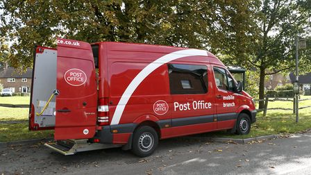 A new Mobile Post Office Service will visit rural Essex communities. Picture: Post Office