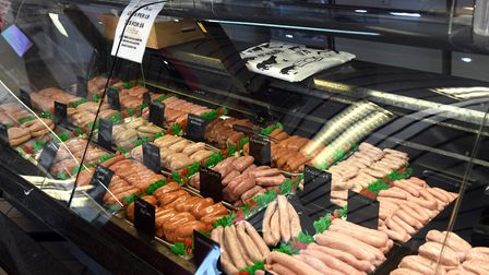 Some of the food on offer at March Quality Meats. Picture: IAN CARTER