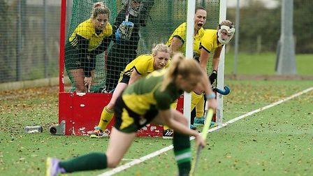 Ely City 1sts in action against Newmarket 1sts in Division Three North West of the East Women's League. Picture: ELY CITY...