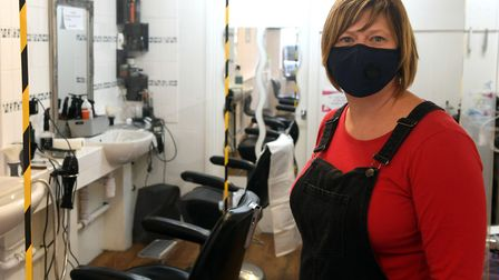 Sarah Sellers (pictured), owner of Sarah at Brian?s, admitted that business has been slow since lockdown, but is...