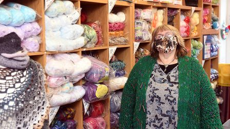 Helen Free (pictured), owner of Rainbow Valley, has taught crochet for around 20 years and has also sold her work to...