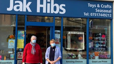 Independent shop owner Jacky Hibbert tops up furloughed employees' wages thanks to success of free l