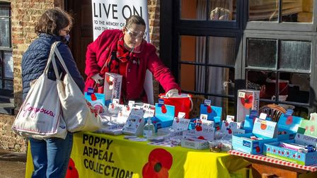 Here is what Remembrance Sunday will look like in Chatteris. Picture: Tina Prior