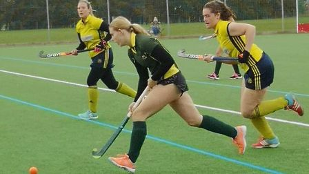 Ely City men's and ladies' sections in action. Picture: ELY CITY HOCKEY CLUB