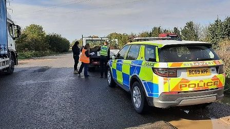 Cambridgeshire Constabulary Rural Crime Action Team joined a nationwide week of action against metal theft and waste crime.