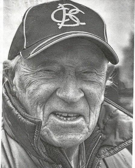 Tributes have been paid to Gilbert Mingay (pictured), known to many as 'Mr Burwell Cricket Club'. Picture: SUPPLIED/SARA...
