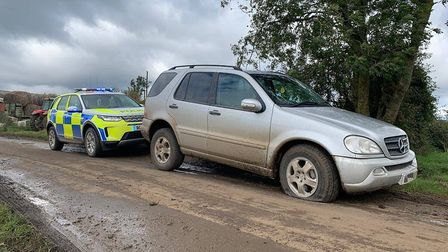 Vehicle stung, Vehicle stung. This ML has been seen in several #OpGalileo forces over the last week. #RCAT @Cambsruralcops...