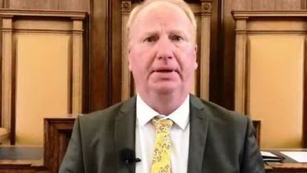 Cllr Steve Count leader of Cambridgeshire County Council admits budgets being set for next year are
