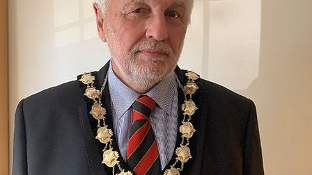Great Dunmow Town Council mayor Mike Coleman