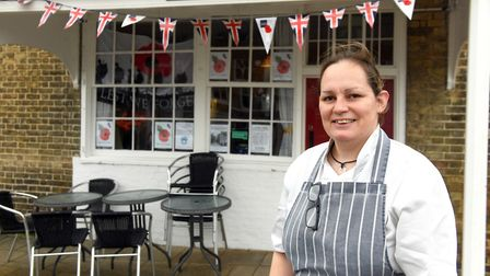 Tina Prior (pictured), owner of The Old Bakery on Market Hill, Chatteris, has reached out to other local businesses and...