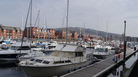 The waterfront at Swansea.
