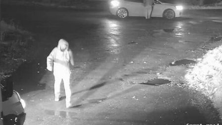 Shared images of the robbery at Soham when a Ford Transit and two vehicles were stolen. Within 72 hours the vehicles...