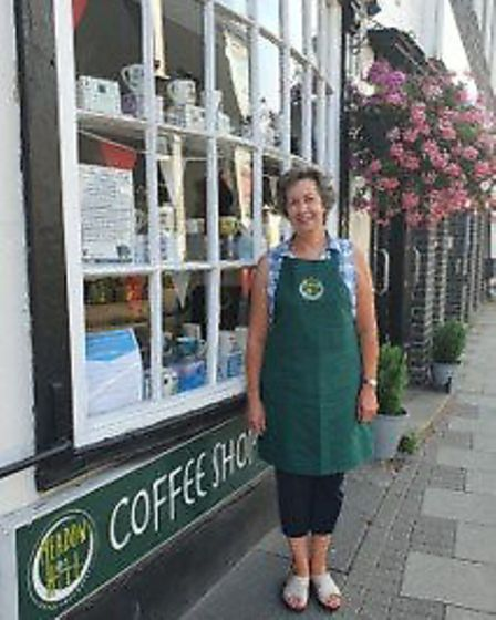 Carole Sansom of Meadow Hill Coffee Shop and Deli in Dunmow backs the #ShopLocal campaign. Picture: Meadow Hill