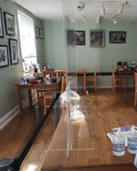 Inside Meadow Hill Coffee Shop and Deli in Dunmow. Picture: Meadow Hill