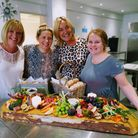 Zoe, Holly, Sarah and Lucy. Picture: Premier Crew Hospitality