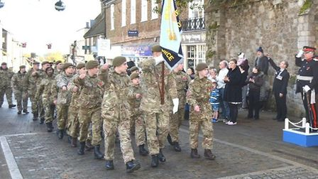 Ely will be holding a reduced service on Remembrance Sunday and Armistice Day due to the coronavirus pandemic. Picture...
