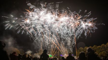 Archive: A previous year's fireworks display. Picture: CELIA BARTLETT PHOTOGRAPHY