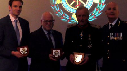 The East of England Ambulance Service Awards in Newmarket