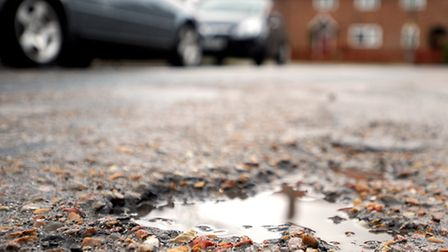 Kier MG were awarded the contract in October to repair Suffolk's roads