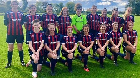 Park Ladies earned consecutive wins after they thrashed Cambourne United Women in the Cambs League. Picture: SUPPLIED/PARK...